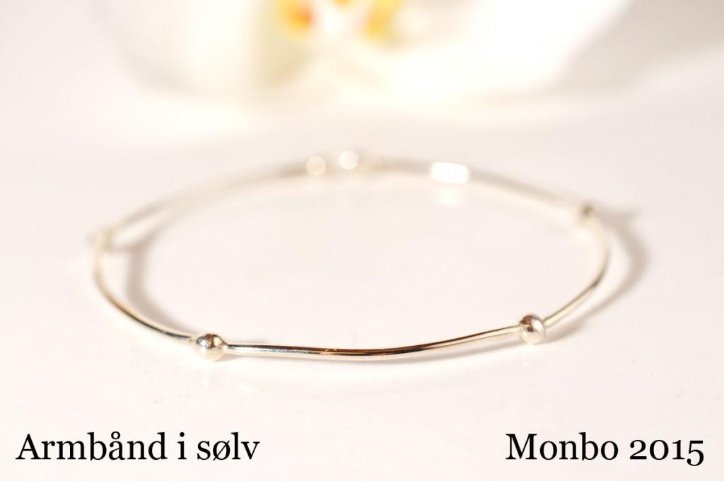 Armbånd i sølv - Monbo Smykker.