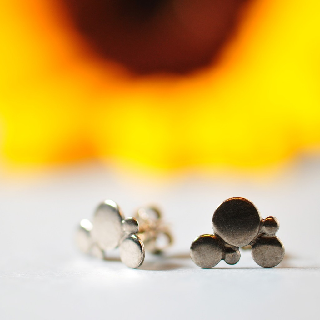 Håndlavede smykker fra Monbo 2016. Øreringe af AJ.