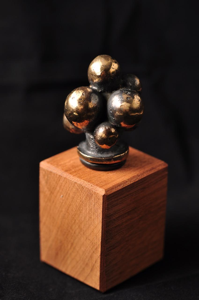 Druer - Vinprop i bronze