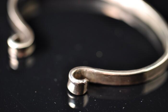 Armring i sterlingsølv - Håndlavede smykker