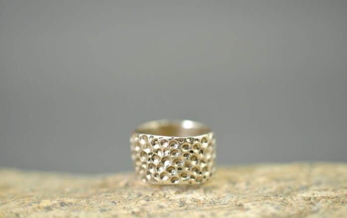 Ocean Ring - str 50 - sterlingsølv-Håndlavede smykker - Fingerringe