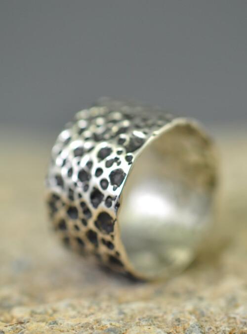 Ocean Ring - str 51 oxyd - Monbo Smykker - Fingerringe